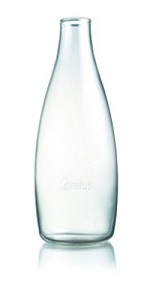 Waterfles met dop en sleeve naar keuze 0.8ltr. Retap