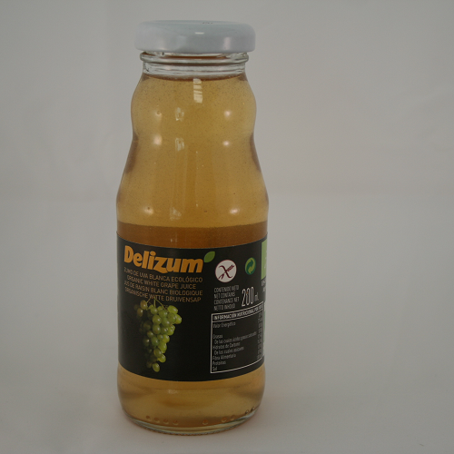 Druivensap wit BIO 200ml. Delizum