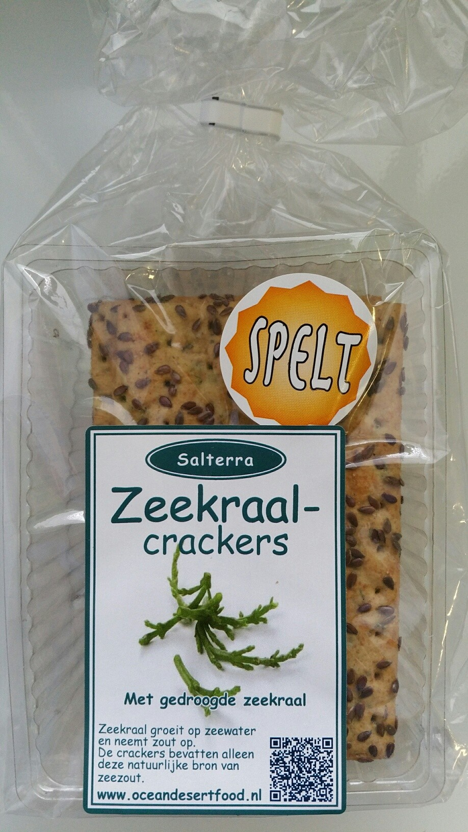 Zeekraal spelt crackers Your Well