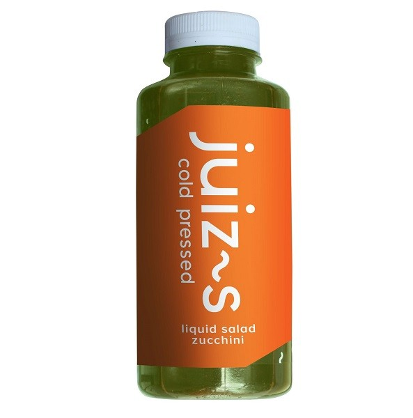 Liquid salad courgette 380ml. Juiz~s