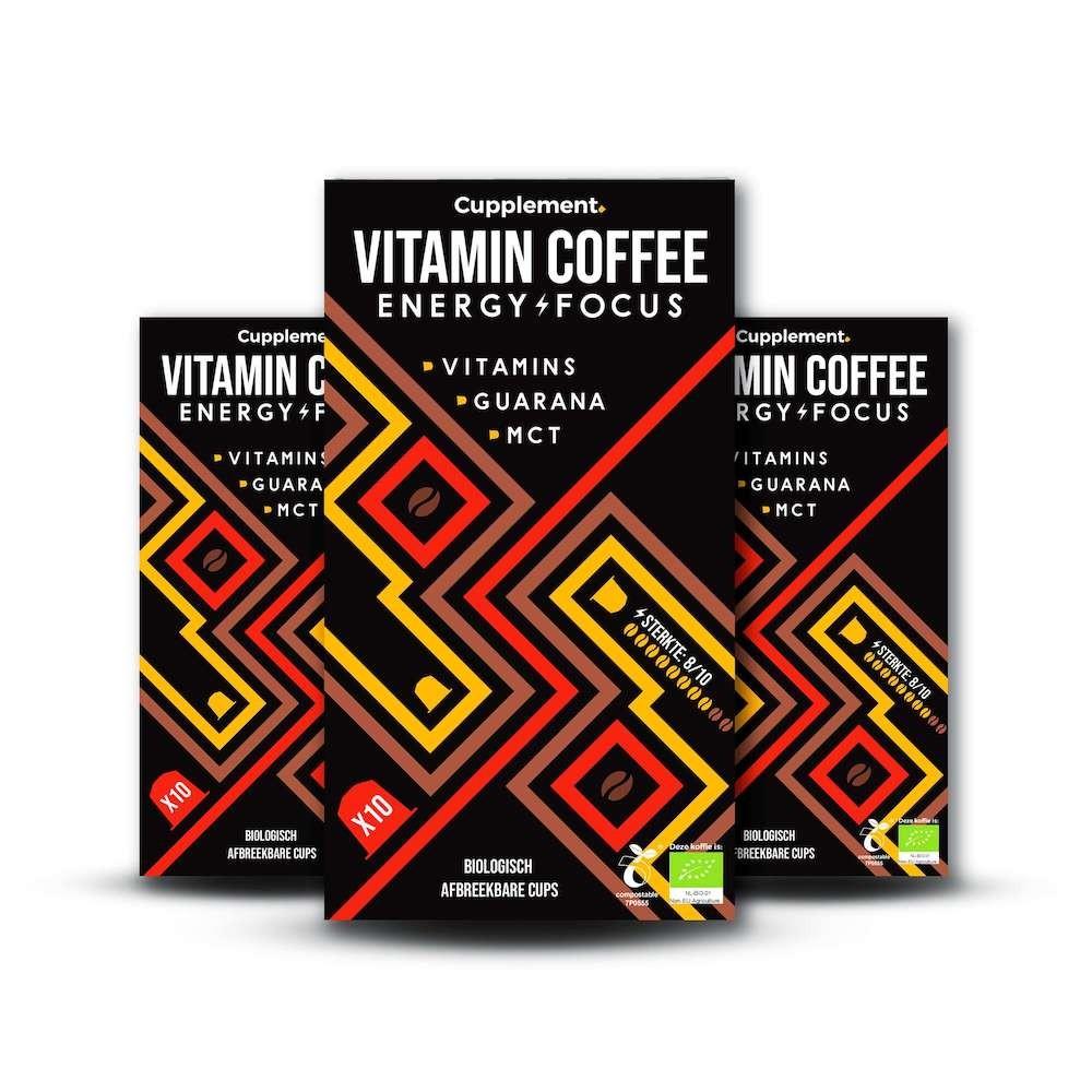 Cupplement Energy/Focus Blend 2.0 capsules 90 stuks espresso