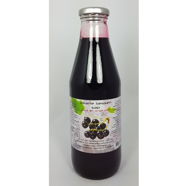 Dutch Cranberry Zwarte bessensap 750 ml